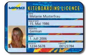 Kitesurf-Card