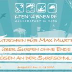 Gutschein Surfschule Born